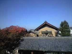 2010年11月7日竹風堂二階より2