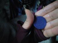 2009年12月19日地下鉄トークン