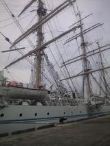 2009年7月20日海王丸 総展帆2