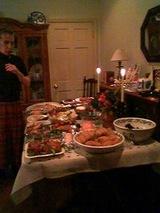 2006Dec23ケイティさん宅持ち寄りディナー
