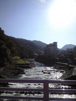 2010年3月11日湯本の早川