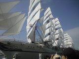 2009年7月20日海王丸 総展帆5