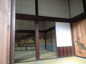 2009年12月16日修学院離宮棚