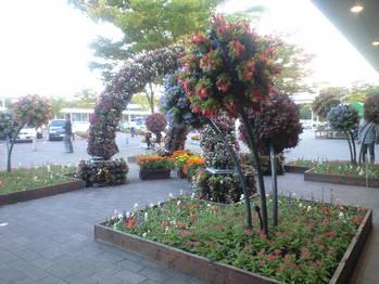 2009年10月13日談合坂SAの花