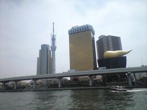 2011年4月11日金の●●ことスカイツリー