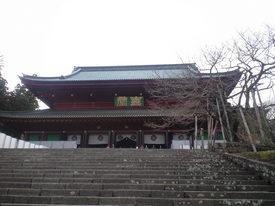2010年4月16日輪王寺金堂