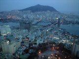 2009年2月24日釜山夕暮れ