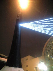 2010年2月8日サッポロファクトリー屋外煙突