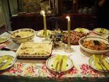 2007June22ケイティさん食卓