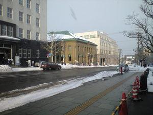 2010年2月9日小樽街路
