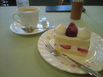 2009年11月18日すいれんのケーキセット