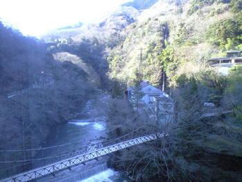 2010年3月10日塔ノ沢早川とつり橋