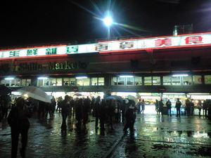 2009年12月17日士林夜市