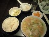 2008年12月13日お昼の中国小皿酒家 楽山