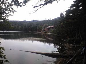 2010年10月17日白駒池湖畔