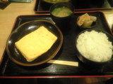 2008年11月9日 南草津風花(ふうか)の出汁巻定食
