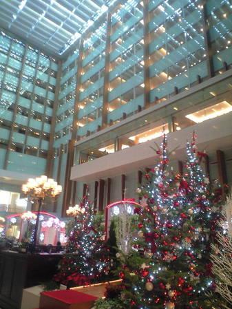 2009年11月20日ホテルアソシアクリスマス