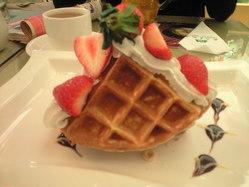 2009年12月19日コスモスホテルカフェにて2