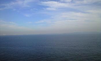 2010年12月1日灯台より海を見る