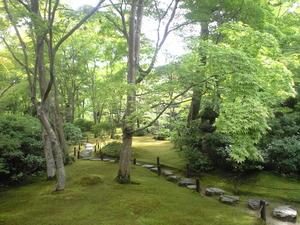 2010年9月16日大河内山荘苔庭