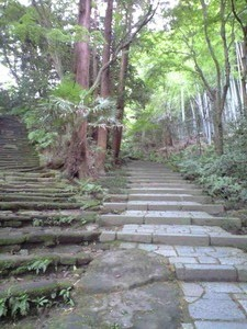 瑞泉寺参道階段