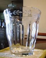 2006年8月24日ダイソーで買ったガラスコップ
