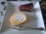 2009年3月19日堂島ロールとチョコレートケーキ