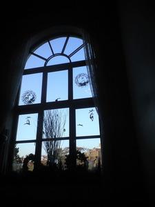 2010年12月6日イギリス館窓