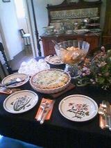 2006Oct28ケイティさんお教室の料理
