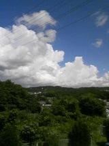 2006年8月14日の入道雲