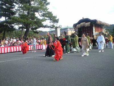 2009年10月22日時代祭り牛車