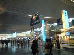 2011年1月18日国際線ターミナル