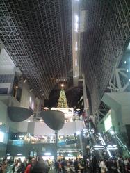 2010年11月17日京都駅ツリー