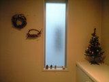 2008年12月3日玄関のクリスマス飾り