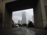 2008年9月30日霞むランドマークタワー