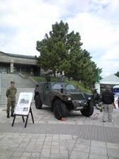 練馬駐屯地装甲車