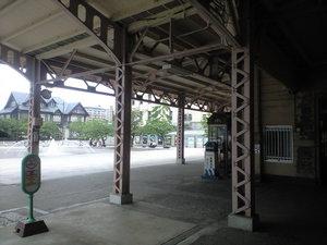 2010年6月4日門司港駅から見た三井倶楽部