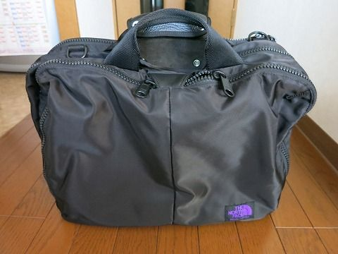 2fc2bfb17 the north face purple label 3way bag : 買物日記