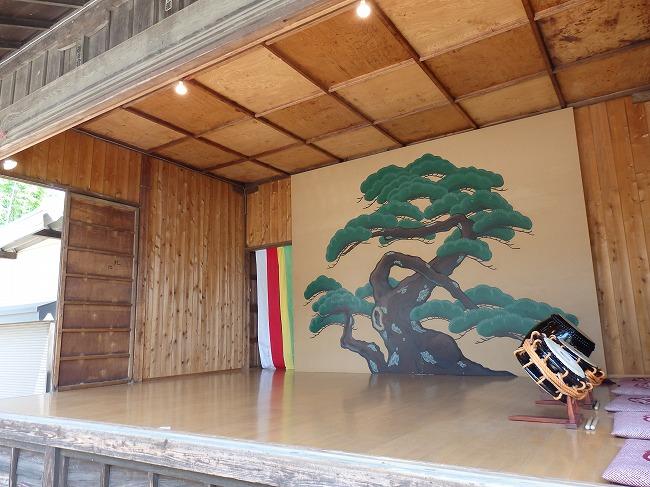 【現地】後半OP-7:熊野神社(神楽殿の中)
