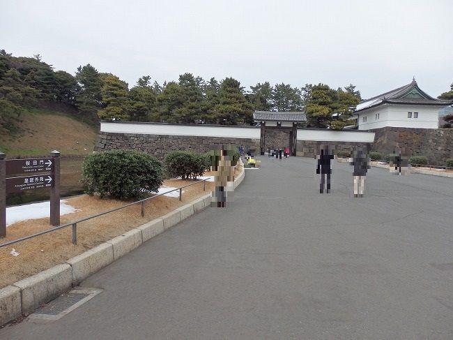 昼の桜田門外