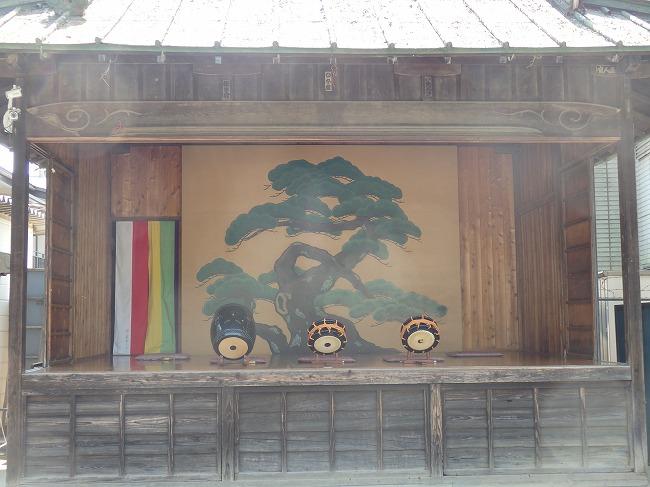 【現地】5-3と後半OP-8:熊野神社神楽殿中