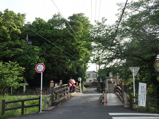 【現地】6-7:氷川橋と新河岸川