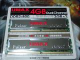 PULSAR DCDDR2-4GB-800