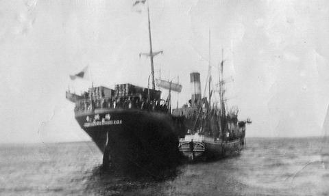 Yomei maru in the Baltic Sea