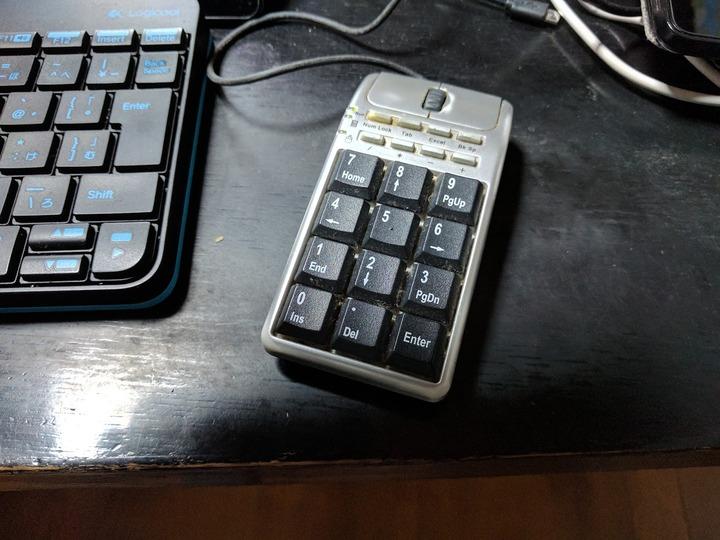 1102テンキーマウス