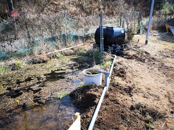 0224池まわりの改修