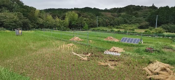 0922稲刈り後の田んぼ