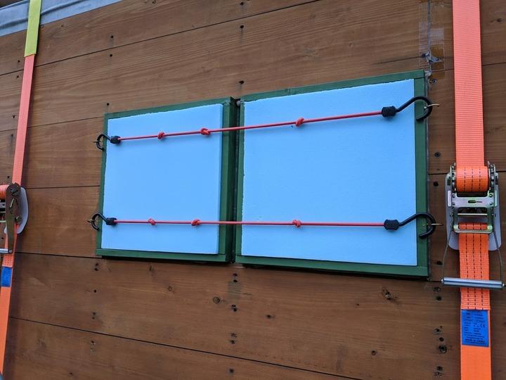 1225窓の保護パネル