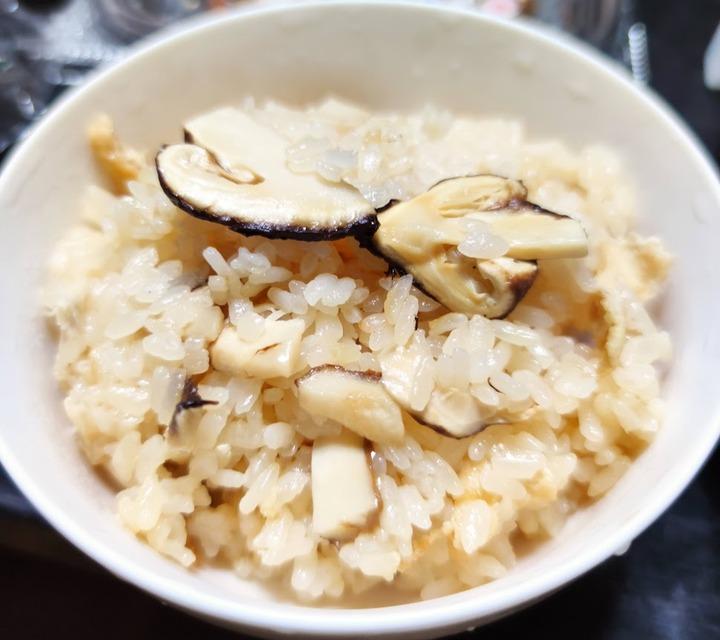 1017(バカ)松茸ご飯