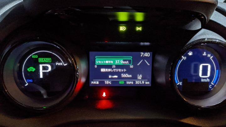 0222カミさんの燃費